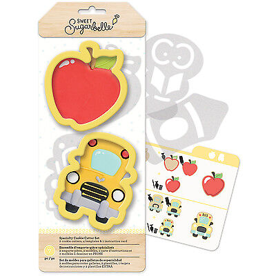 Sweet Sugarbelle Specialty Cookie Cutter Set 7/Pkg-Back To School