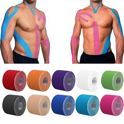 Kinesiologie Tape Kinesiology Sport Tape Physiotape Tapes 5cm x 5m Beförderung