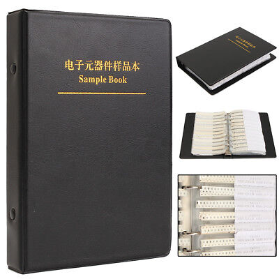 3725Pcs 0805 SMD Resistor and Capacitor Electronic Sample Book Full Version Kit