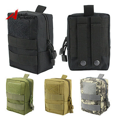 1000D Outdoor Tactical Molle Waist Bag Magazine Medical Pouch Hunting Paintball