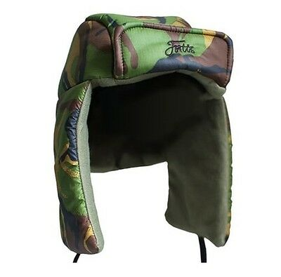Fortis x Snugpak NEW Carp Fishing Mens Deer Stalker Snugnut Hat DPM Camo