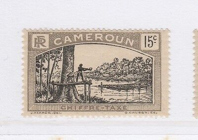 A2P55 FRENCH CAMEROUN POSTAGE DUE STAMP 1925-27 15c MH*