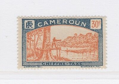 A2P55 FRENCH CAMEROUN POSTAGE DUE STAMP 1925-27 30c MH*