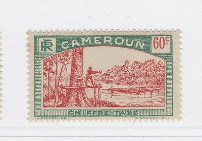 A2P55 FRENCH CAMEROUN POSTAGE DUE STAMP 1925-27 60c MH*