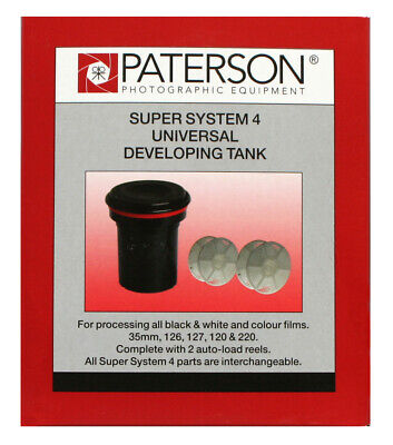 Paterson Universal Developing Tank And Two Reels PTP115