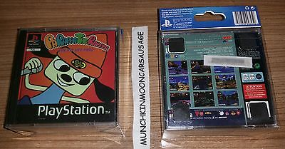 New PlayStation Classic PS1 4 Game Case Coasters PaRappa Wipeout FREE UK P&P