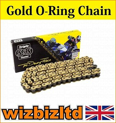 Gold O-Ring Motorcycle Chain Suzuki GSF1250 A-L0 Bandit (ABS) 2010-12 CHO530120
