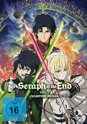Seraph of the End - Vol. 1 - Vampire Reign # 2-DVD-BOX-NEU