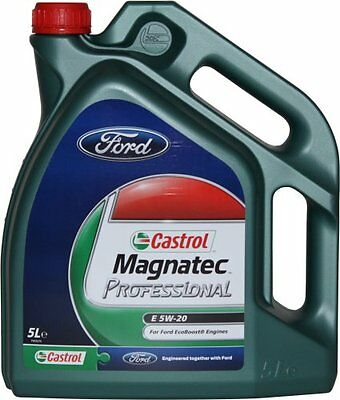 New! Castrol Magnatec 5W20 5 Litre Litres Professional Engine Oil Ford Ecoboost