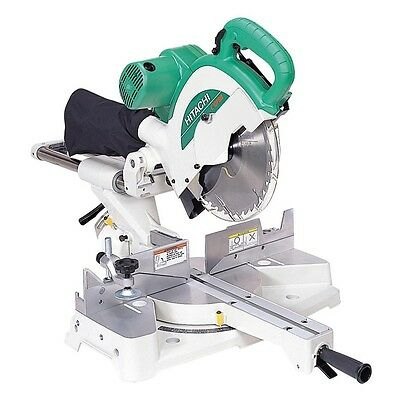 Hitachi Mitre Saw 1450W Slide Compound Drop Hardware Power Tools Circular Electr