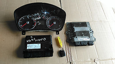 Ford Fusion 1.4 Tdci  2005 - 2012 Complete Ecu Kit  6S61 12A650 Ba