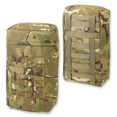 Molle Side Pocket Pouch Large 10 Litre Mtp Multicam British Army Military
