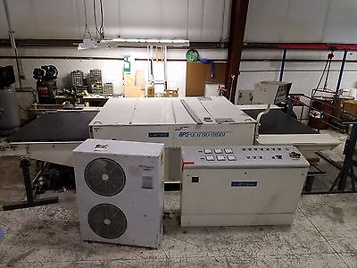 Used Industrial Meyer RPS/2 1800 Fabric Laminator Fusing Press