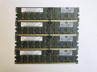 Hynix 16GB 4X4GB DDR2 PC2-6400P 800MHz ECC Reg Server Memory RAM