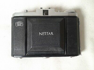 Zeiss Ikon Nettar Folding Camera - Medium format - 6x6 - 120 film  - VGC