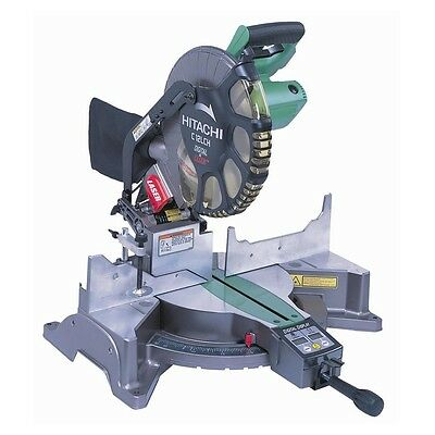 Hitachi Compound Mitre Saw 305MM Drop Hardware Laser Guide System Alignment Blad