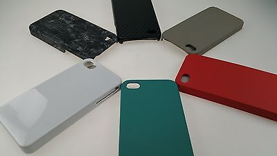 Lot of 100x Apple iPhone 4/4S 1 Piece Thin Hard Slim Snap on Cover Phone Cases