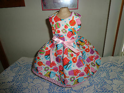 doll clothes dress for 18 inch american girl cupcake candy donut handmade 78