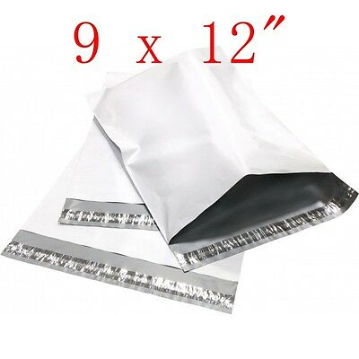 """9 x 12 """"  Poly Mailers Shipping Envelope Plastic Bags, 2.35 Mil, 100, 300, 1000"""