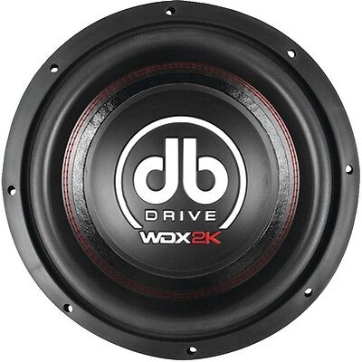 "New DB Drive WDX12 2K 2000 W Dual 4 Ohm 12"" Competition Subwoofer"