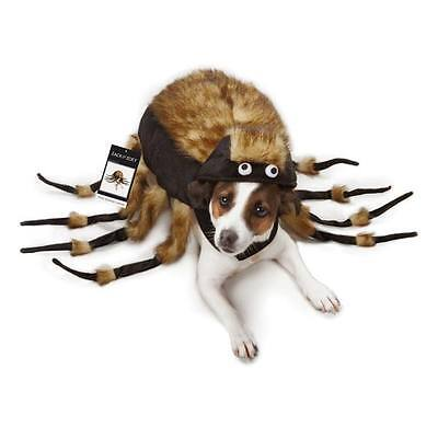 Dog Halloween Costume Fuzzy Spider Tarantula Pet Costumes spiders XS - L