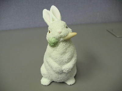 Dept 56 Easter 1996 Easter Snowbunny w/Carrot Really Sweet Good Condition