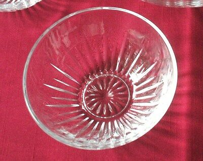 Princess House Highlights Lead Crystal Salad Bowl 862 MINT