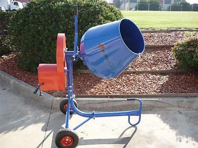 CEMENT CONCRETE MIXER 2.2 cubic foot capacity 550W New 12 MONTHS WARRANTY