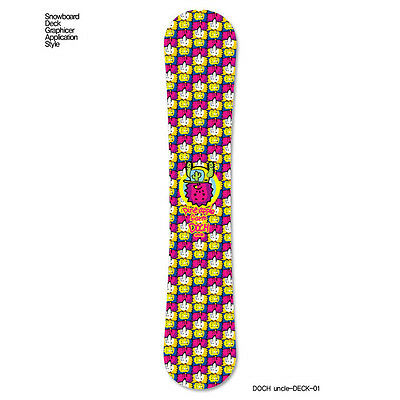 Skin Decal Stickers For Snowboard Deck Tuning Graphicer DOCH-Uncle 11 Designs
