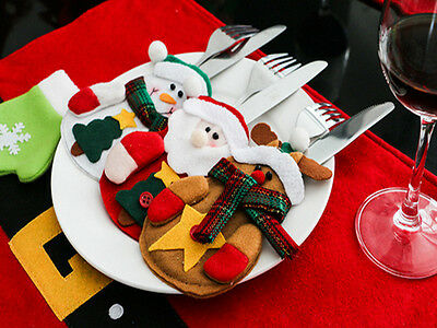 Useful Snowman Decorative Home Gift Bags Christmas Pretty Decorations Table Sets