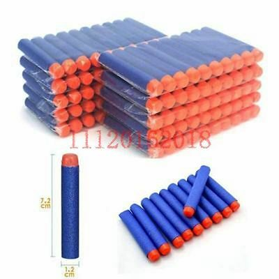 10-200 Refill Bullet Darts for Nerf N-strike Elite Series Party Fun Toys Kids