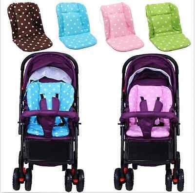 Toddlers Baby Infant Thick Pushchair Mat Cover Stroller Buggy Pram Seat Cushion