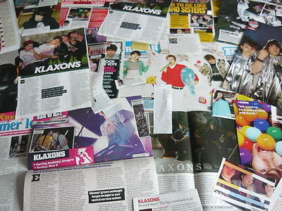 Klaxons - Magazine Cuttings Collection (Ref D)