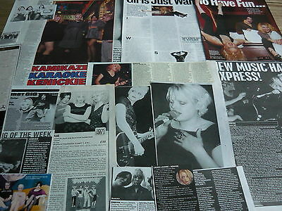Kenickie - Magazine Cuttings Collection (Ref T4)