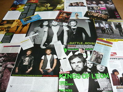 Kings Of Leon - Magazine Cuttings Collection (Ref D)