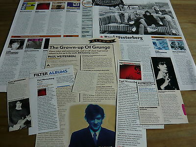 Paul Westerberg - Magazine Cuttings Collection (Ref X)