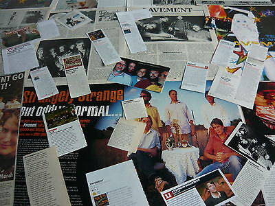 Pavement/stephen Malkmus - Magazine Cuttings Collection (Ref S4)