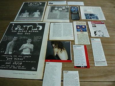 Lamb - Magazine Cuttings Collection (Ref M5)