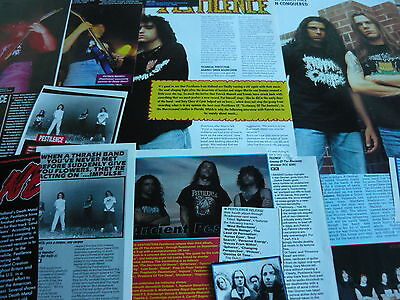 Pestilence - Magazine Cuttings Collection (Ref R8)