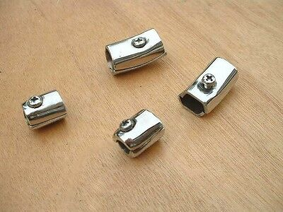 Lambretta  Series 3 Stainless Steel Legshield End Caps - Brand New