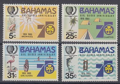 Bahamas 1985 Girl Guide MNH