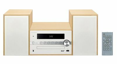Pioneer X-CM56D-W DAB, Bluetooth,USB Compact Micro System White Beech Wood