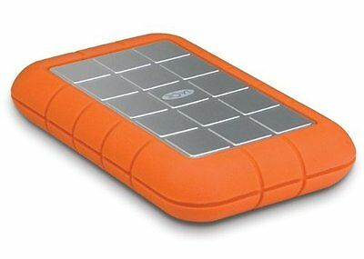 LaCie Rugged Hard Disk Triple 1 TB USB 3.0 Firewire 800 (2x) Portable Hard Drive