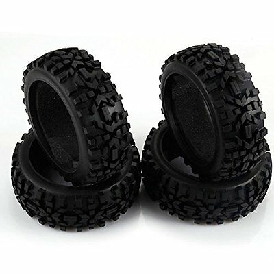 4P RC 1/8 Scale RC Off Road Car Buggy Tires Racing Rubber Tyre 42mm Width