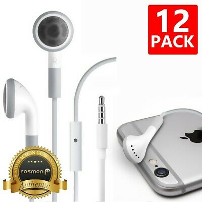 FosPower 4FT 3.5mm Metal Headphone Headset Earbud w/ Mic for PS4 Pro Xbox One S