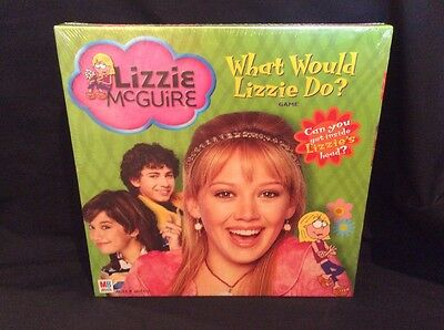 Vintage Disney Sealed in Box What Would (LIZZIE McGUIRE) Do? Trivia Board Game