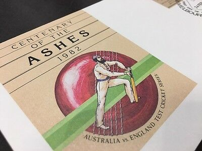 Centenary Of The Ashes 1982 First Day Issue 24 Feb 1982