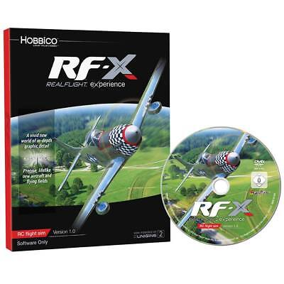 NEW Great Planes RealFlight RF-X Software Only GPMZ4548