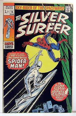 Silver Surfer (Vol 1) #  14 Fine (FN) Price VARIANT RS003 Marvel Comics SILVER A