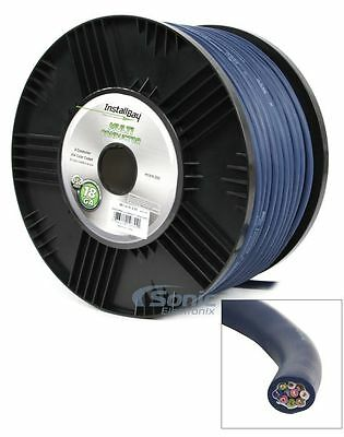 Install Bay 250 ft. of Multi Nine-Conductor 18 AWG Gauge Color Coded Cable Coil
